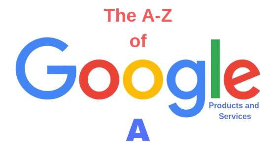 google products and services a