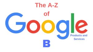 google products and services B