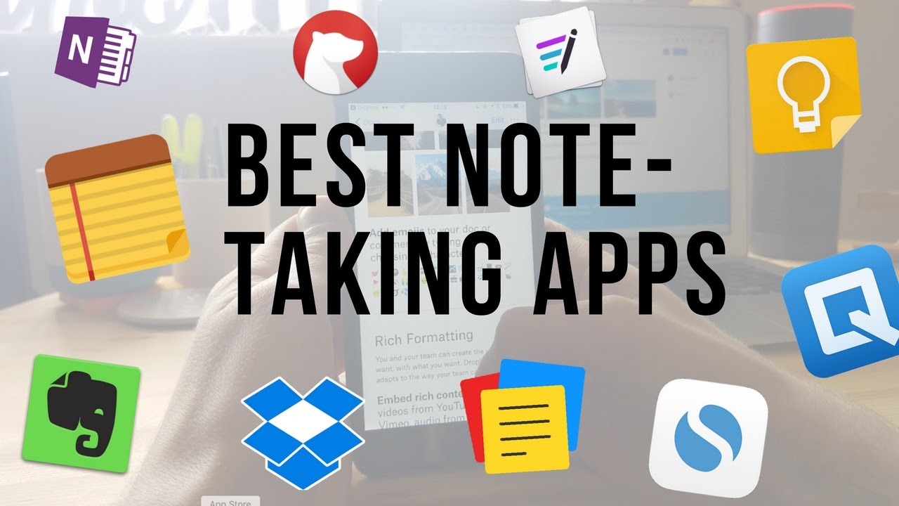 Must Have Note-Taking Student Apps