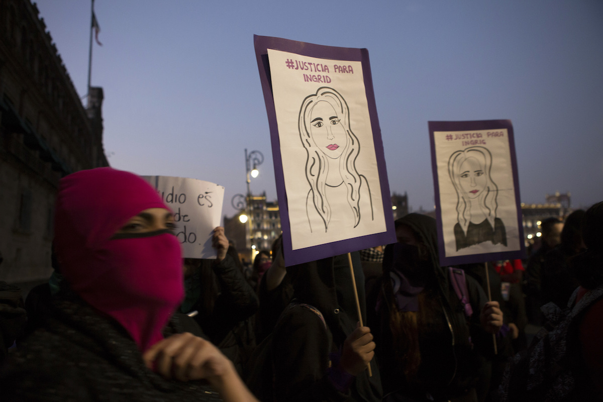 Protests Against Femicide In Mexico