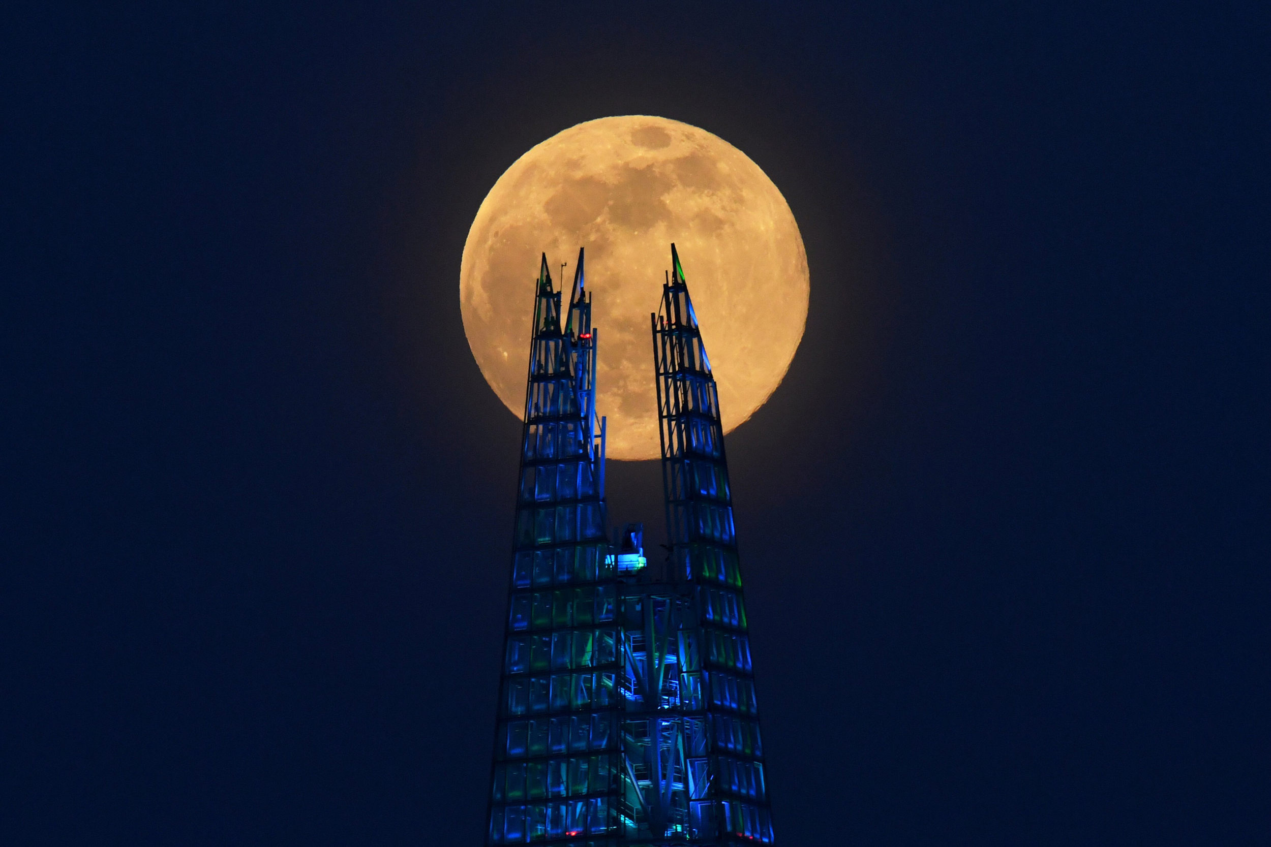 Super Moon 2020 - A Glimmer Of Happiness During The Coronavirus Pandemic