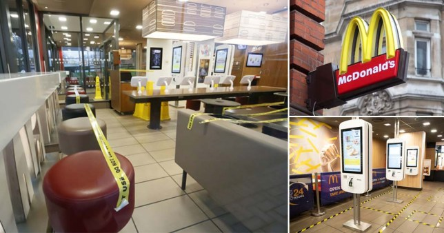 Coronavirus Update - McDonald's UK Donates Food To Those In Need
