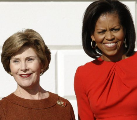 Coronavirus Update - Michelle Obama and Laura Bush Speak At Online Campaign To Raise Funds