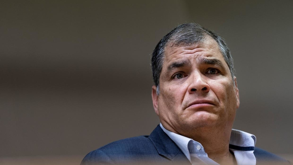 Rafael Correa Sentenced To 8 Years In Prison Over Corruption Charges