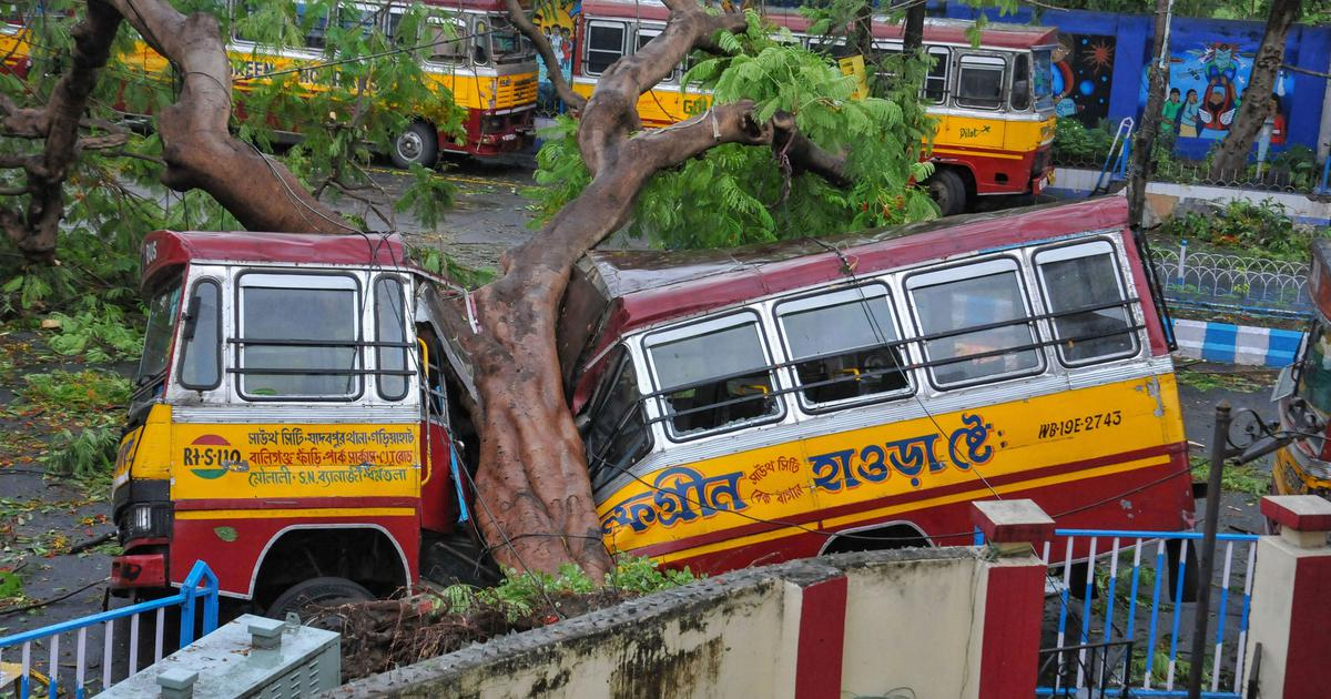 Cyclone Amphan Ravages Across East India And Bangladesh