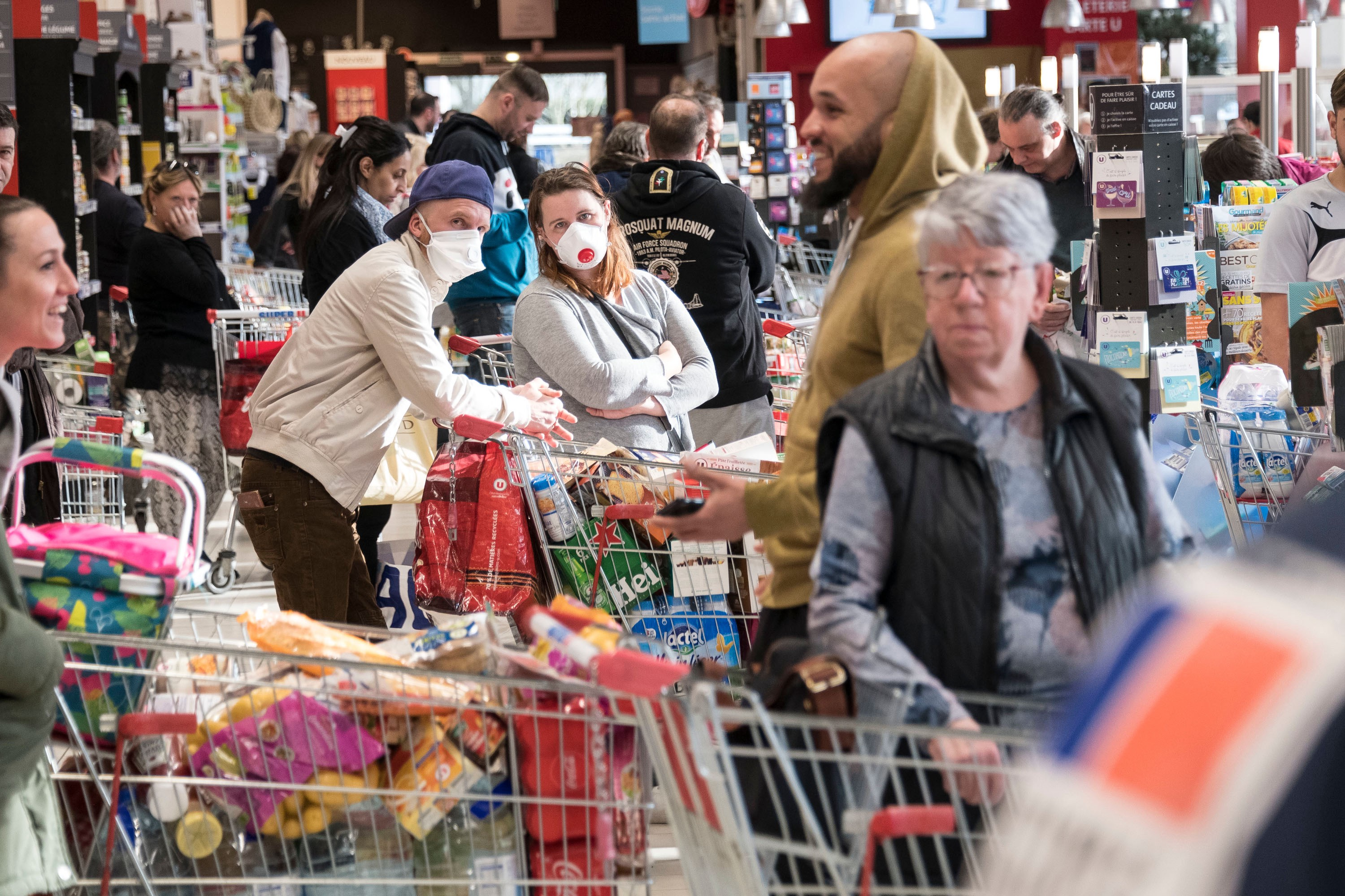 Coronavirus Update - What It's Like To Be A Grocery Store Essential Worker During The Pandemic