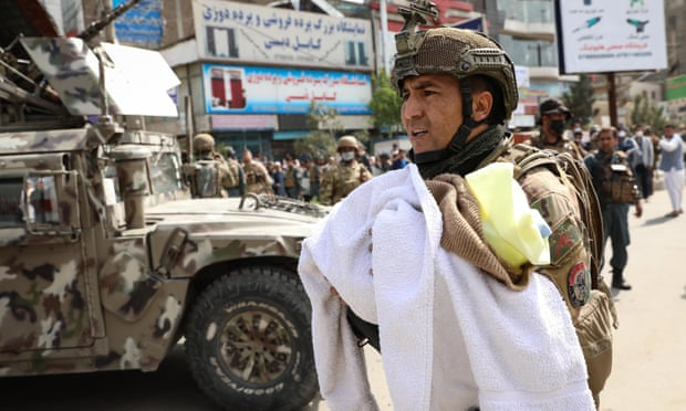 Afghanistan - 2 Newborns Among Those Killed In Hospital Attack