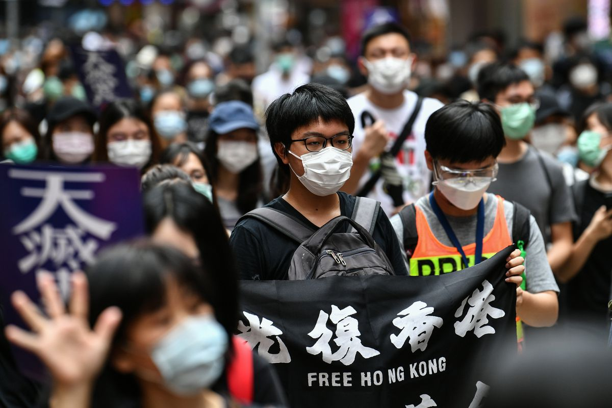 Hong Kong Witnesses Massive Protests Against China's New Security Laws