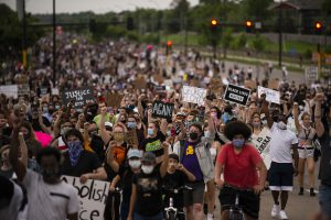 George Floyd - Minneapolis Protests Over Police Custody Death Of Unarmed Black Man