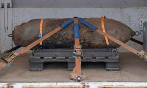 World War 2 Bomb Found In Frankfurt