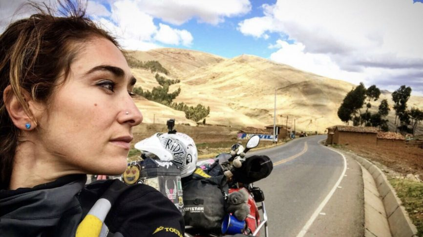 Maral Yazarloo - Riding Across The World With A Baby Bump