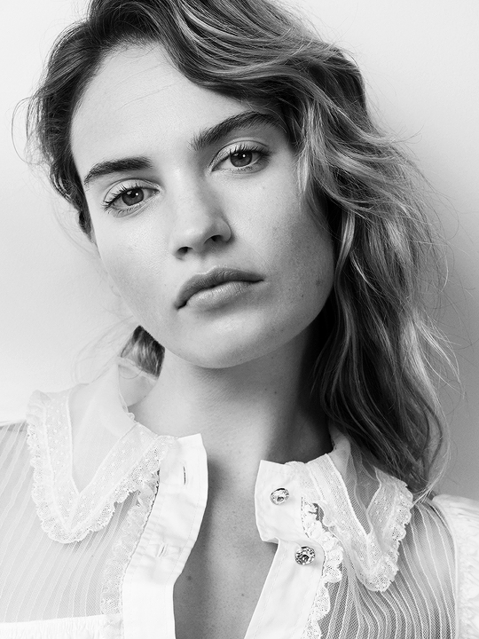 Lily James On Acting, London, And More