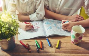 Coloring Books To Help Adults De-Stress